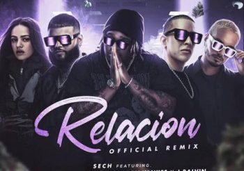 🧶🧶🧶Sech, Daddy Yankee, J Balvin ft. Rosalía, Farruko – Relación Remix 💌💌